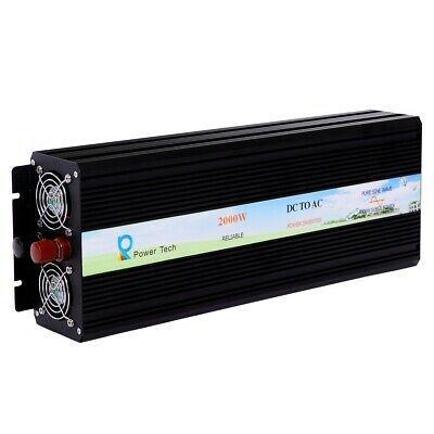 Ad Ebay Link Solar Power Pure Sine Wave Inverter 2000w 12v To 110 120v Off Grid Home System In 2020 Power Inverters Off Grid System Solar Power Inverter