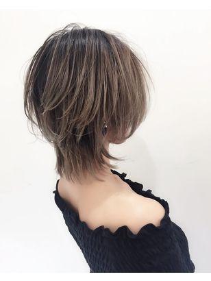 2019年夏 ショート ウルフの髪型 ヘアアレンジ 人気順