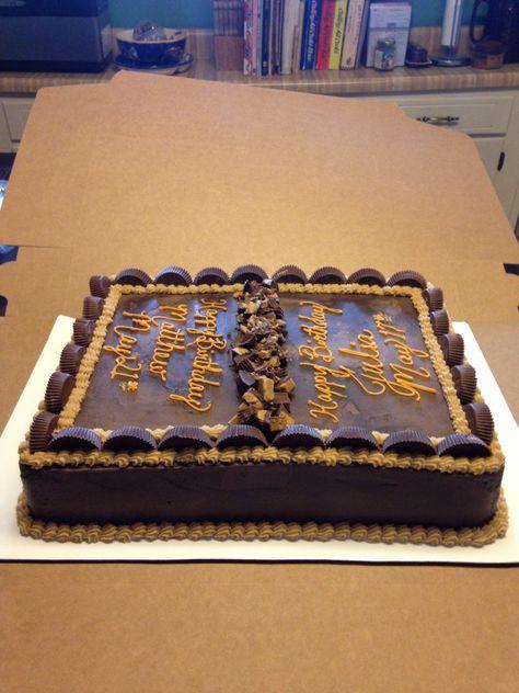 Double birthday cake