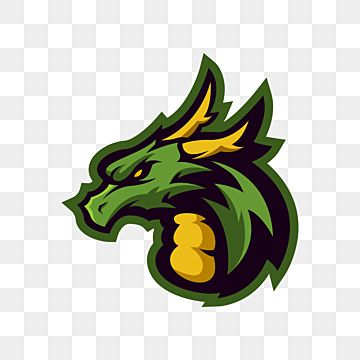 Green Dragon Esports Logo Dragon Esport Monster Png And Vector With Transparent Background For Free Download In 2021 Logo Dragon Green Dragon Instagram Logo