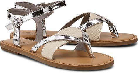 hot sale online 8be14 ba157 Riemchensandale LEXIE in 2019   ▻Görtz◅ Metallic   Sandals ...