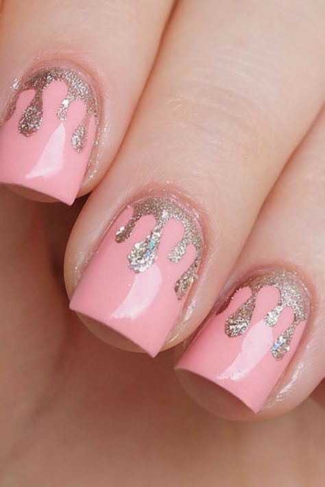 nails $2.85 - Dripping paint...