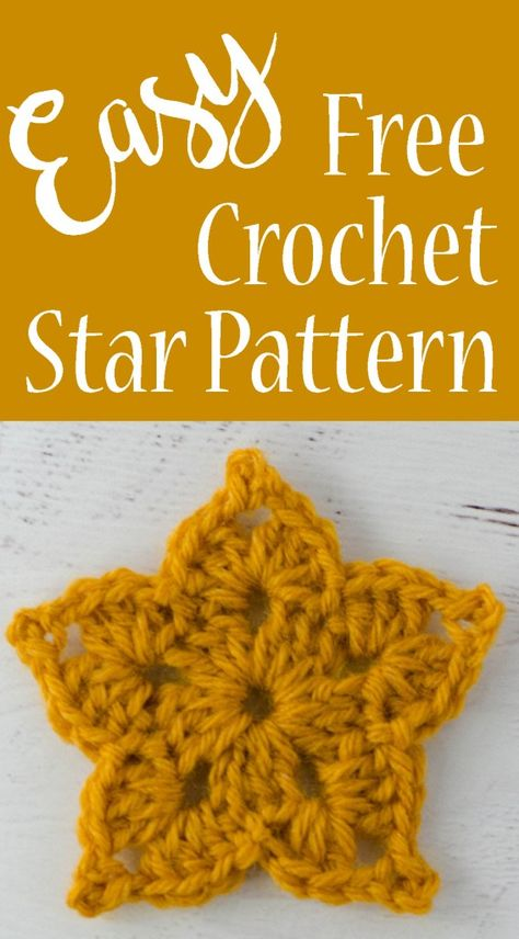 Loving this free crochet star pattern. Would make an adorable Christmas ornamen… Loving this free crochet star pattern. Would make an adorable Christmas ornament or an appliqué! Crochet Star Patterns, Christmas Crochet Patterns, Crochet Stars, Crochet Snowflakes, Crochet Flowers, Crochet Angels, Crochet Star Stitch, Crochet Designs, Crochet Snowflake Pattern
