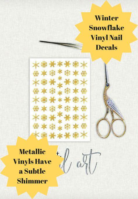 decals These Winter Snowflake Vinyl...