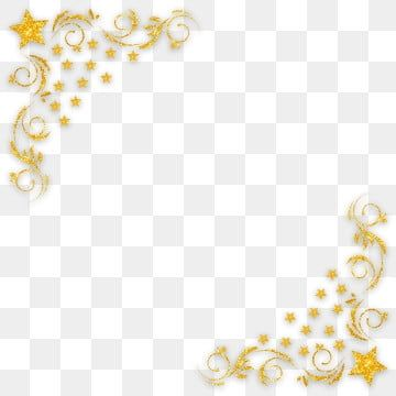 Golden Frame Png Images Vector And Psd Files Free Download On Pngtree Clip Art Borders Glitter Frame Clip Art