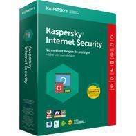 Kaspersky Internet Security - 1 poste - 2 ans