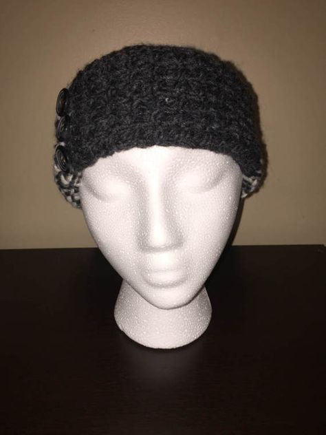 Womens Multi Tonal Grey And White Loom Knitted By Loveloomknits