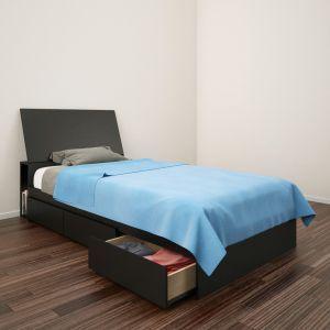 Resultats De Recherche Pour Nexera Surplus Rd Platform Bed With Storage Twin Storage Bed Headboard Storage