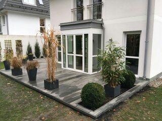 Wpc Gartenterrasse Gartengestaltung Terrasse Garten Terrasse Gartengestaltung Garten Landschaftsbau