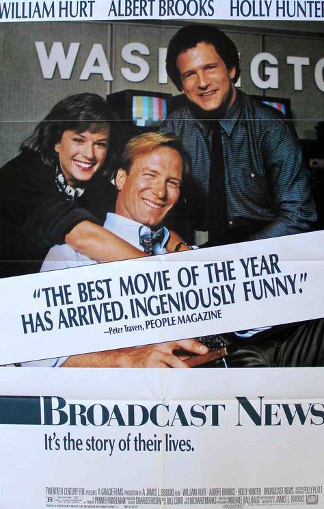 Broadcast News (1987) Original One Sheet Movie Poster