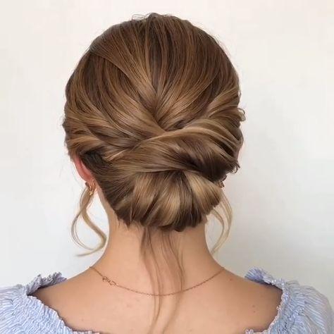 #updos #hairvideos #hairtutorials #hairstyles #hairideas