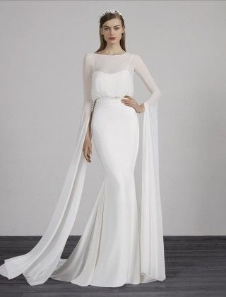 Pronovias Page 2 Of 3 Couture Bridal Miami Wedding Dress Long Sleeve Formal Dresses For Weddings Simple Wedding Gowns