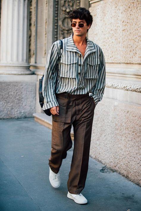 26 Looks com Camisa com Listra Vertical para você se Inspirar – O Cara Fashion