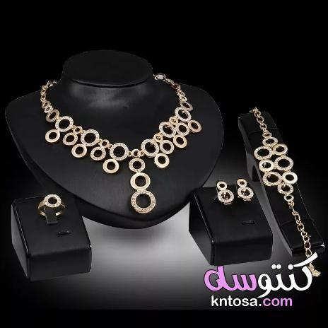 اطقم لازوردي 2020 اطقم ذهب ناعمة أنواع الذهب لازوردي Jewelry Set Design Crystal Jewelry Sets African Beads Necklace