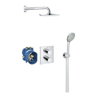 Grohe Grohtherm 3000 Cosmopolitan Perfect Shower Set Compleet Met