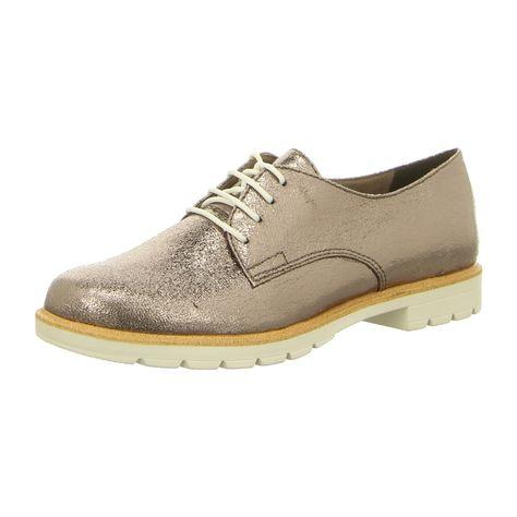 NEU: Tamaris Schnürer 1 1 23214 20 915 pewter | Schuhe