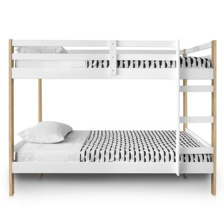 Letto Bunk Bed Multiple Colors Kidsbedroomfurniture Twin Bunk