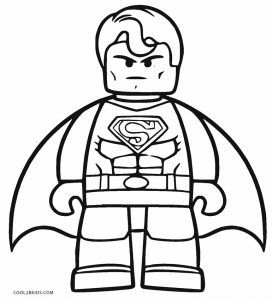 Superman Coloring Pages Superhero Coloring Pages Lego Coloring