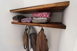 Hutablage Aus Altholz Garderobe Kleine Garderobe Garderobe Diy