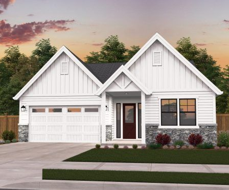 Poplar One Story Farmhouse Plan By Mark Stewart Small Farmhouse Plans House Plans Farmhouse Modern Farmhouse Plans