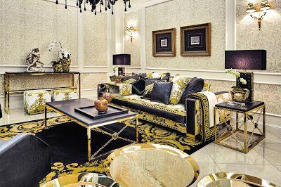 Versace Home Quando La Moda Invade La Casa Luxury Living Room Versace Home Opulent Interiors
