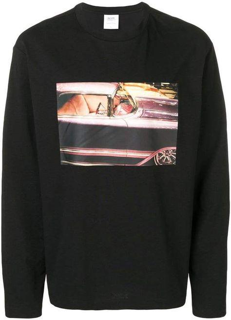 Calvin Klein Jeans Est. 1978 graphic long sleeve T-shirt