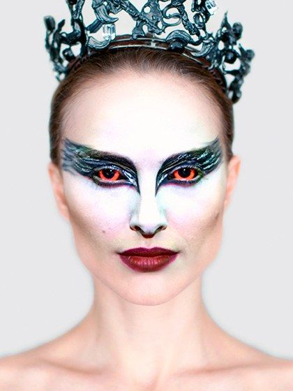 """HALLOWEEN BEAUTY SERIES: Black Swan """"One of the best movie-inspired makeup looks of all time has to be Natalie Portman's character, Nina, in Black Swan."""