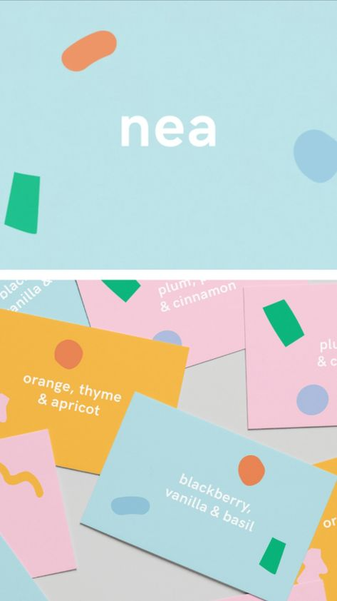 Nea brand identity design by Stefan Vincent