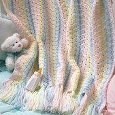 Rainbow Baby Wrap Crochet Pattern ePattern