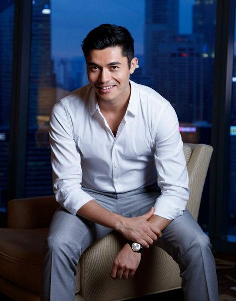 Henry Golding for Crazy Rich Asians movie publicity. Photo : Russel Wong