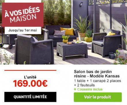 Un Salon De Jardin A Moins De 170 Chez Leroy Merlin With Regard To Salon De Jardin Leroy Merlin Resine