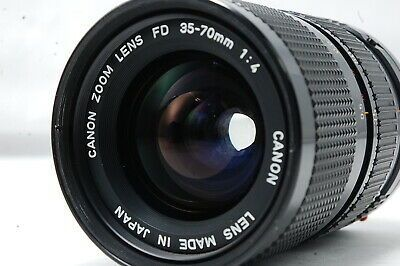 Canon Zoom Lens New Fd 35 70mm F4 Sn283944 Camera Lenses Canon Zoom Lens Zoom Lens