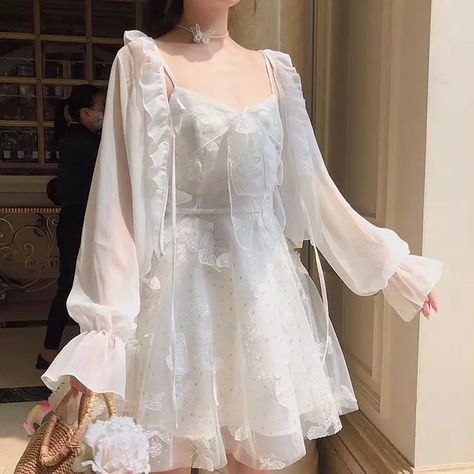 12.5US $ 39% OFF|French Fairy Dress Women Elegant Sleeveless Chiffon Mini Dress Casual Floral Print Korean Style Kawaii Summer Dress Women 2020|Dresses|   - AliExpress