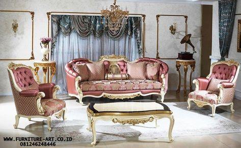 23+ model kursi tamu sofa ukir mewah   sofa klasik modern