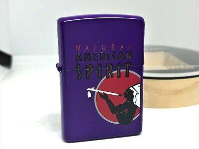 Zippo 2016 Limited Natural American Spirit Cigarettes Amethyst Purple Lighter American Spirit Cigarettes American Spirit Amethyst Purple