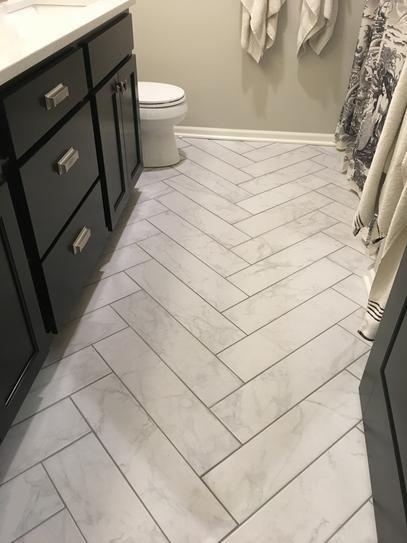 Msi Carrara 6 In X 24 Glazed Porcelain Floor And Wall