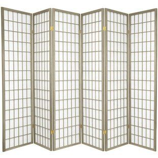 Marla 6 Panel Room Divider Allmodern In 2020 Room Divider Panel Room Divider Divider