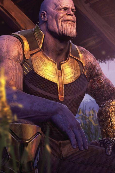 Thanos Avengers EndGame 8K Wallpaper ID#2082 on Superheroes Wallpapers Wallpaper (1366x768)