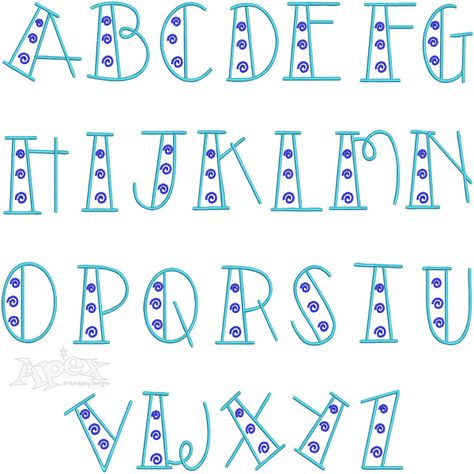 Doodle Swirl Embroidery Font Set Includes: Upper Case 3 inch Letters Hand Lettering Alphabet, Doodle Lettering, Creative Lettering, Lettering Styles, Block Lettering, Bullet Journal Font, Journal Fonts, Journaling, Hand Lettering For Beginners