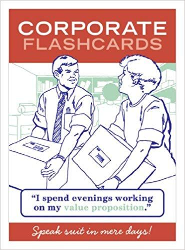 Corporate Flashcards: Speak Suit In Mere Days: Knock Knock