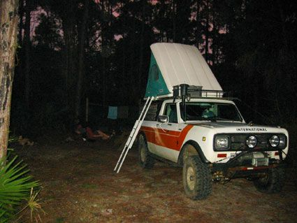 Columbus Roof Top Tent On Scout | Gettn There | Pinterest | Roof Top Tent,  International Scout And International Harvester