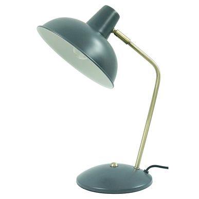 Lampe De Bureau En Fer Gris Anthracite Tori Lampe De Bureau