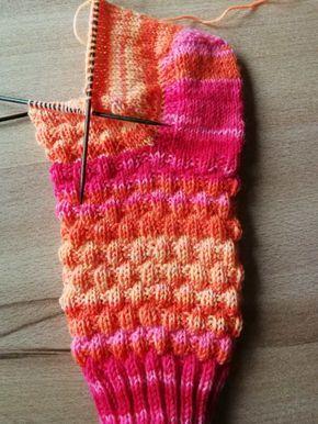 Socken Stricken Leicht Gemacht Socken Stricken Muster Socken Stricken Kindersocken Stricken
