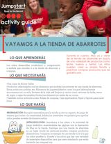 Vayamos A La Tienda De Abarrotes | Read for the Record | Early Reading Activity - TeacherVision.com