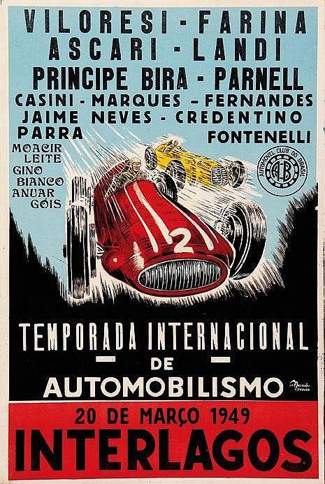 Coup De Paris 1939 Rennsport Vintage Poster Druck Neu