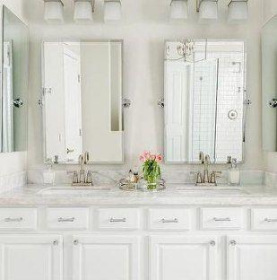 Bathroom Mirror And Lights Pottery Barn, Pottery Barn Bathroom Vanity Lights