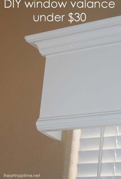 tutorial how to make a wood valance window treatment i heart nap time i heart nap