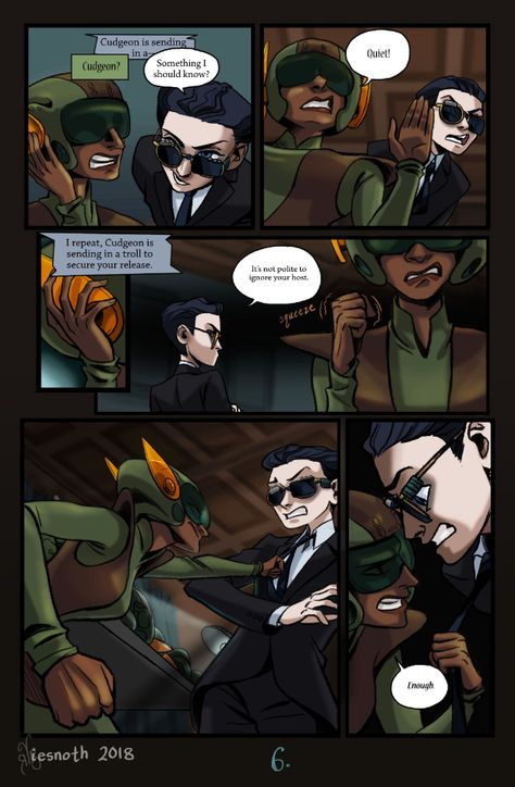 P8 Artemis Fowl Book 1 Comic By Iesnoth Holly Short