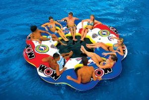 21 Best Inflatable Floating Island Reviews For Summer 2020 Inflatable Floating Island Lake Rafts Inflatable Island