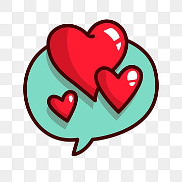 Cartoon Love Red Love Background Decoration Heart Shaped Dialogue Love Clipart Illustration Cartoon Love Png And Vector With Transparent Background For Free In 2021 Love Png Love Backgrounds Cartoons Love